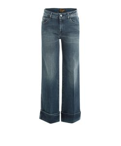 Seafarer | Wide Leg Jeans With Cropped Ankle Gr. 25
