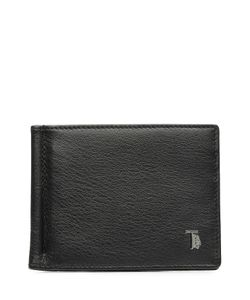Tods   Leather Wallet With Bill Clip Gr. One Size