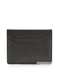 Tods   Textured Leather Card Holder Gr. One Size