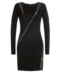 Jitrois | Suede Sheath With Zippers And Cutouts Gr. Fr 40