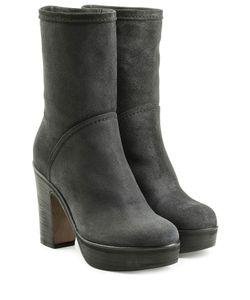 Fiorentini & Baker | Suede Ankle Boots With Platform Gr. It 42