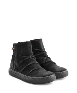Fiorentini & Baker | Suede Sneaker-Style Ankle Boots Gr. It 36