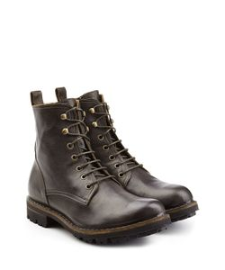 Fiorentini & Baker | Lace-Up Leather Boots Gr. Eu 44