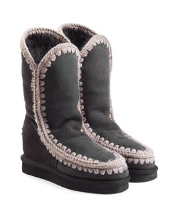 Mou | Eskimo Wedge Tall Sheepskin Boots Gr. Eu 36
