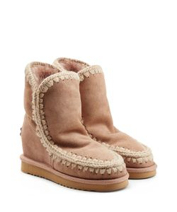 Mou | Eskimo Wedge Short Sheepskin Boots Gr. It 37