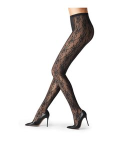Fogal | Lace Tights Gr. S