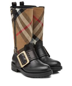 Burberry Shoes & Accessories | Boots With Check Printed Fabric Gr. Eu 37.5