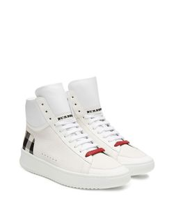 Burberry Shoes & Accessories | Leather High Top Sneakers Gr. Eu 41