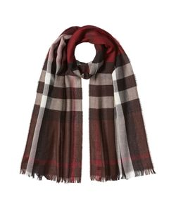 Burberry Shoes & Accessories | Printed Wool-Cashmere Scarf Gr. One Size