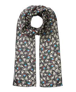Anna Sui | Printed Silk Chiffon Scarf Gr. One Size