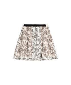 Julien David | Printed Cotton Skirt With Embellishment Gr. Xs