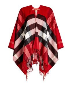 Burberry Shoes & Accessories | Printed Cashmere-Merino Wool Poncho Gr. One Size