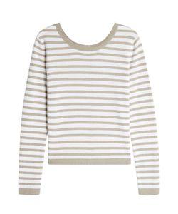 Iris von Arnim | Striped Cashmere Pullover Gr. L