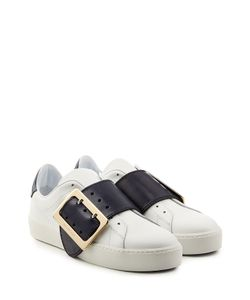 Burberry Shoes & Accessories | Leather Sneakers With Buckle Detail Gr. Eu 41