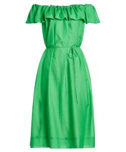 Paule Ka | Cotton Dress With Silk Gr. Fr 40