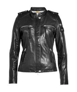 True Religion | Embroide Leather Jacket Gr. M
