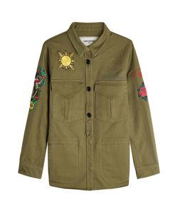 Zadig & Voltaire   Embroide Cotton Military Shirt Gr. S