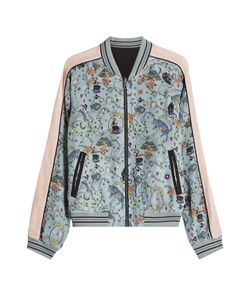 Zadig & Voltaire   Printed Reversible Bomber Gr. Xs