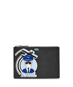 Karl Lagerfeld | Fly With Karl Zipped Clutch Gr. One Size