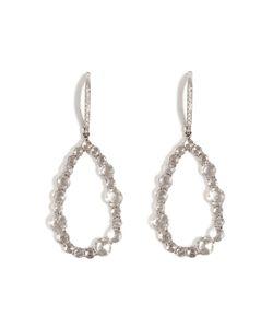 Susan Foster | 14k White Gold Chandelier Earrings With Diamonds Gr. One Size
