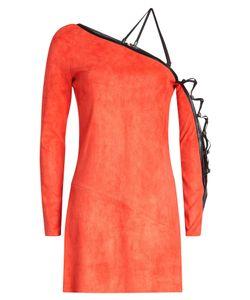 Jitrois | Suede Mini Dress With Leather Trim Gr. Fr 38