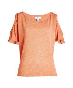 Velvet   T-Shirt With Cut-Out Shoulders Gr. M