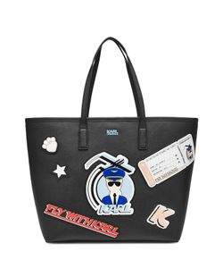 Karl Lagerfeld | Fly With Karl Printed Shopper Gr. One Size