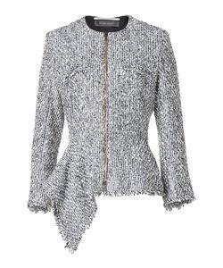 Roland Mouret | Cotton And Wool Blend Tweed Jacket Gr. Uk 10