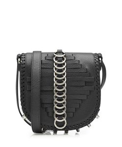 Alexander Wang | Studded Leather Shoulder Bag With Rings Gr. One Size