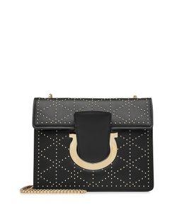 Salvatore Ferragamo   Embellished Leather Shoulder Bag Gr. One Size