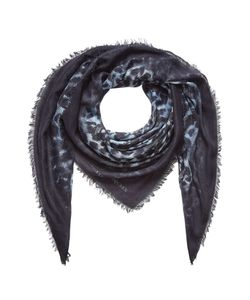 Alexander McQueen | Printed Scarf With Silk Gr. One Size