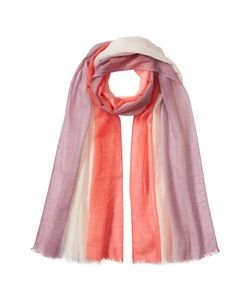 Agnona | Colorblocked Scarf In Cashmere And Cotton Gr. One Size