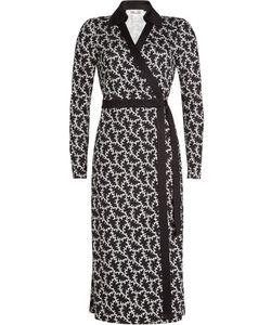 Diane von Furstenberg | Printed Silk Wrap Dress Gr. Us 14