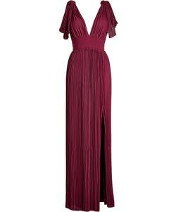 Elie Saab | Pleated Floor Length Dress Gr. Fr 36
