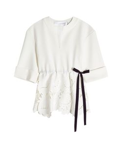 Victoria, Victoria Beckham | Top With Embroide Cut-Out Detail Gr. Uk 12