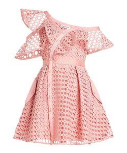 Self-Portrait | Lace Frill Mini Dress Gr. Uk 4