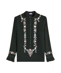 Vilshenko | Embroide Silk Blouse Gr. Uk 10