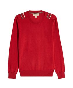 Burberry London | Wool Pullover With Buckles Gr. M