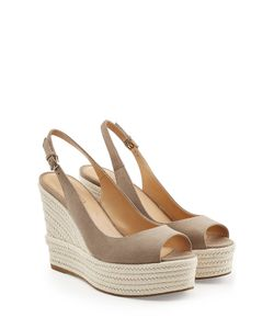 Sergio Rossi | Suede Wedges Gr. It 38.5