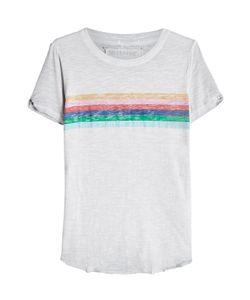 True Religion | Cotton-Blend T-Shirt With Cut-Out Detail Gr. M