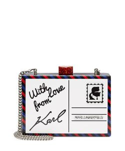 Karl Lagerfeld | Printed Box Clutch Gr. One Size
