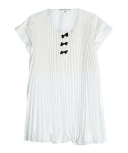 Marco de Vincenzo | Pleated Crepe Top With Bows Gr. It 42