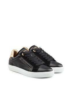 Zadig & Voltaire   Embellished Leather And Suede Sneakers Gr. It 36