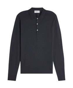 John Smedley | Wool Polo Top Gr. S