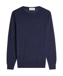 John Smedley | Cotton And Cashmere Pullover Gr. L