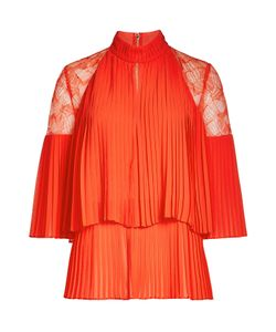 Elie Saab | Pleated Top With Lace Gr. Fr 38