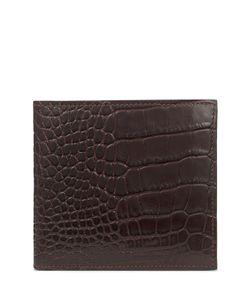 Smythson | Mara Embossed Leather Wallet Gr. One Size