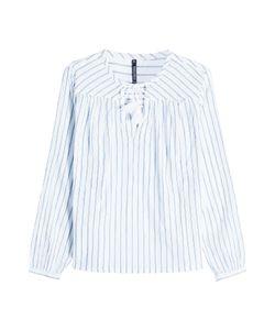 Woolrich   Striped Cotton Blouse Gr. S