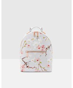 Ted Baker | Oriental Blossom Leather Backpack Light