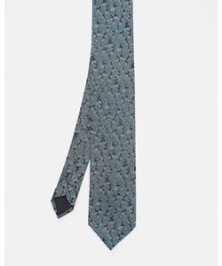 Ted Baker | Camouflage Silk Tie Teal